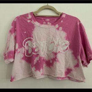Barbie tie dye crop top